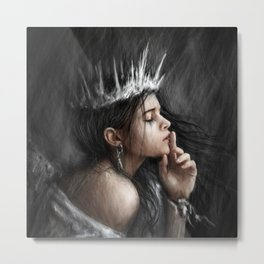 Queen of Secrets Metal Print