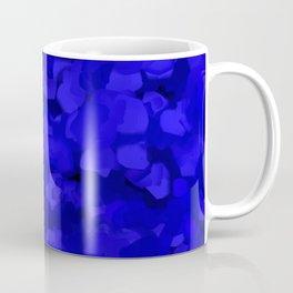 Rich Cobalt Blue Abstract Coffee Mug