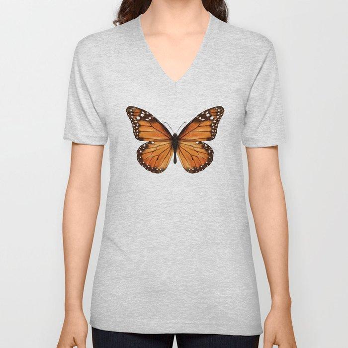 monarch butterfly Unisex V-Ausschnitt