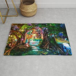 The Butterfly Ball Rug