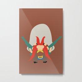 Looney Toons - Yosemite Sam Metal Print