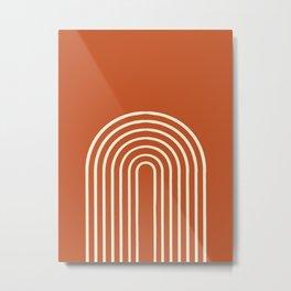Terracota Metal Print