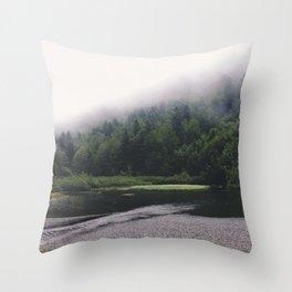 Saut Deth Pish Throw Pillow