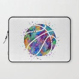 Basketball Watercolor Art Print Sports Poster Home Decor Kids Room Sports Painting Nursery Decor Laptop Sleeve