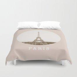 PARIS / Eiffel Tower Duvet Cover