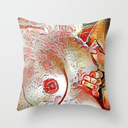 (Sk)in Passion 2 Throw Pillow