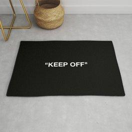 Keep Off Rug