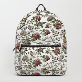 Flowering Wood Backpack