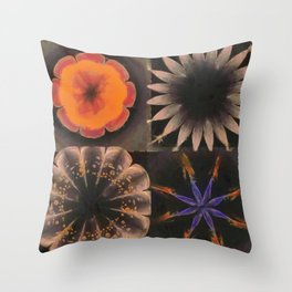 Shamaness Nude Flowers  ID:16165-134337-14980 Throw Pillow