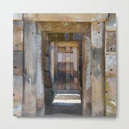 Ancient Doorway #4 Metal Print