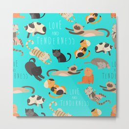 When Cats Are Everywhere Metal Print