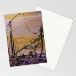 Cranes and Martyrs Stationery Cards