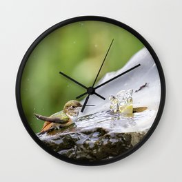 Birds Just Want to Have Fun Wall Clock