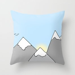 Ain't No Mountain Throw Pillow