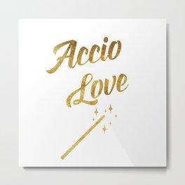 Accio Love Metal Print