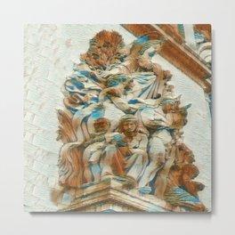 Sculpture - Paris France - Arc de Triomphe Metal Print