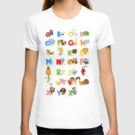 ABC (english) T-shirt