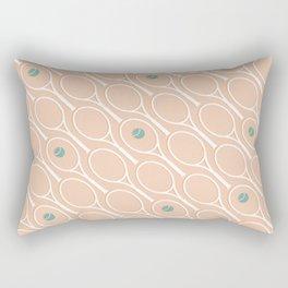Pink Tennis Rectangular Pillow