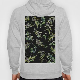 Eucalyptus and Olive Pattern  Hoody