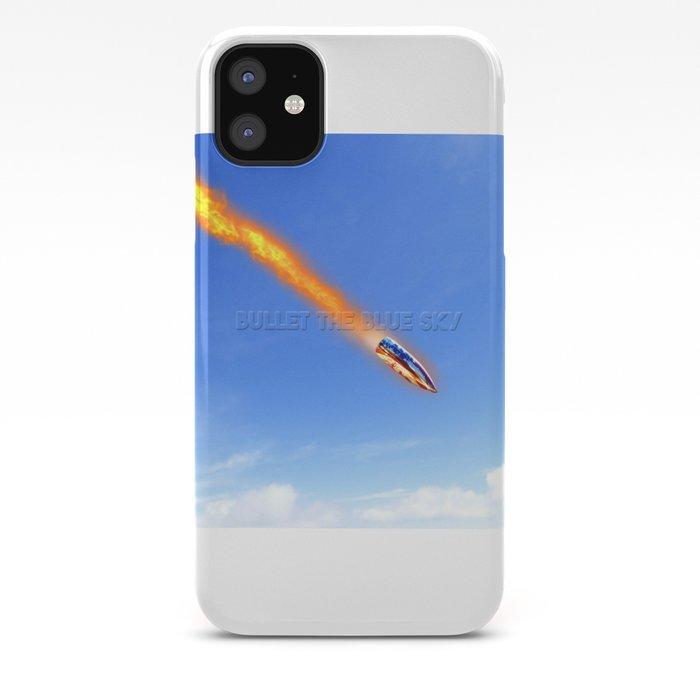 u2's bullet the blue sky iPhone Case
