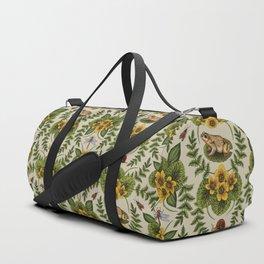 Wetlands Creatures - Toads, Snails, Dragonflies & Marsh Marigolds Duffle Bag