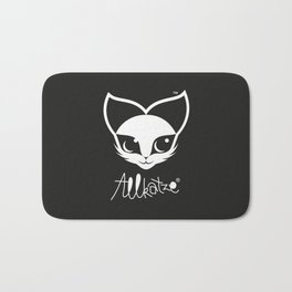 ALLKATZE * Space Cat - Weltraum-Katze - Chat d'Espace Bath Mat