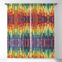 rainbow power Blackout Curtain