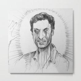 Saint Bundy Metal Print