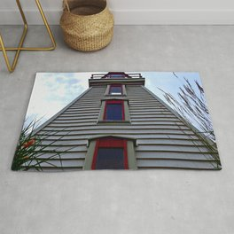 Garden Lighthouse Looking Up Rug