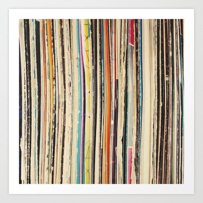Record Collection Kunstdrucke