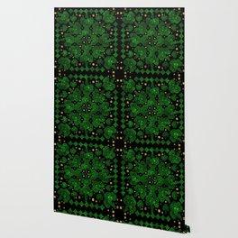 Shamrock Clover Ornament Wallpaper