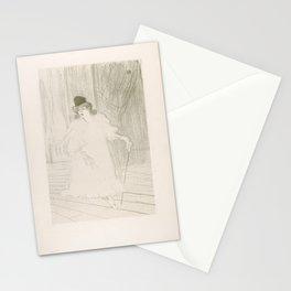 Cecy Loftus,1895 Stationery Cards