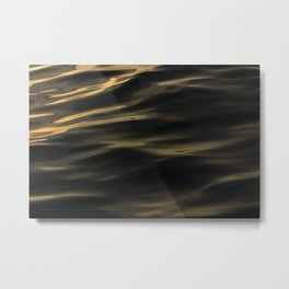 Painted by the Sea III Metal Print