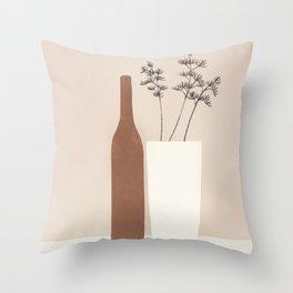 Vase Decoration II Throw Pillow