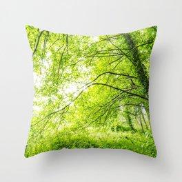 Wild nature parks I - Nature Fine Art photography Throw Pillow