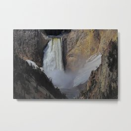 The Lower Falls Metal Print