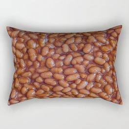 Baked Beans Pattern Rectangular Pillow