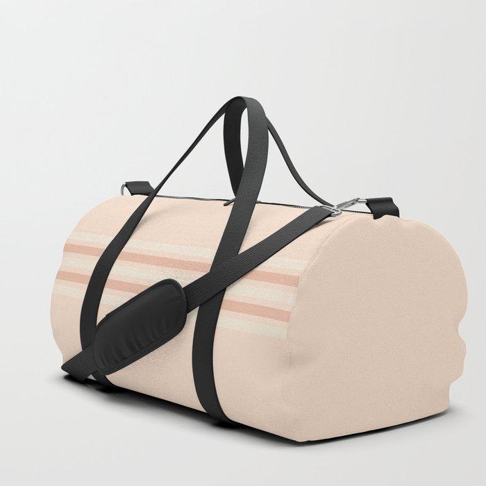 Retro Stripes 7 Duffle Bag