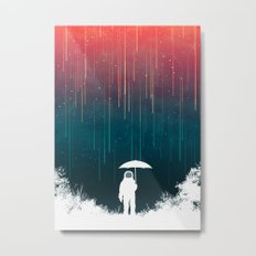 Meteoric rainfall Metal Print