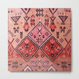 Epic Rustic & Farmhouse Style Original Moroccan Artwork  Metal Print