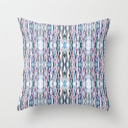 Dreamcatcher Abstract Painted Paper Photograph Throw Pillow