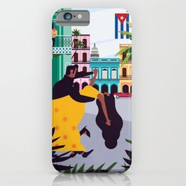 Havana ft. Salsa Dancers iPhone Case