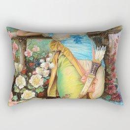 Message Of Love - Hans Zatzka Rectangular Pillow