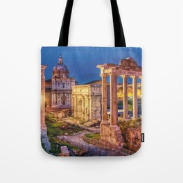 Roman Forum, Italy Tote Bag