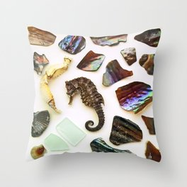 Curly Q Throw Pillow