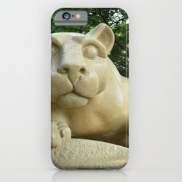 Nittany Lion Shrine Large Print iPhone Case