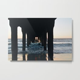 Splash of Sunset Color Metal Print