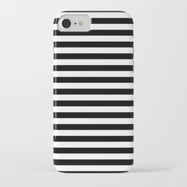 Stripe Black And White Vertical Line Bold Minimalism Stripes Lines iPhone Case