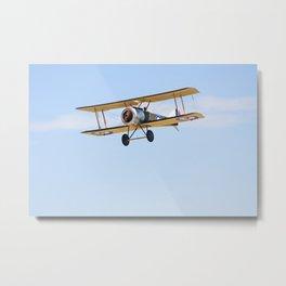 Remote Control Biplane  Metal Print