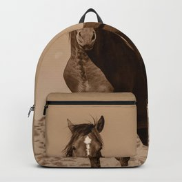 Wild_Horses Sepia 3501 - Nevada Backpack